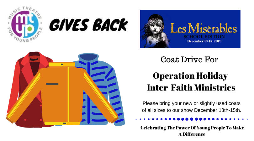 Coat Drive For Les Miserables